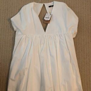 Zara White Jumper Dress